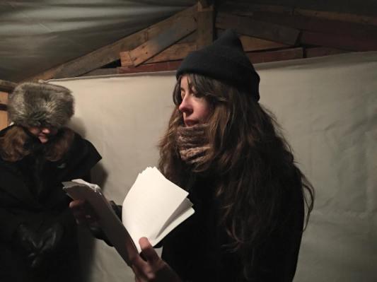Allison Devers and Sara Majka