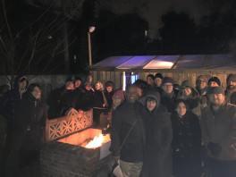 Winter Shack group